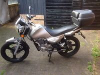 Zontes Monster 125 motorcycle motorbike 2014. VGC. 12Months MOT Only 3200mls