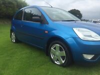 2004 FORD FIESTA 1.4 ZETEC###SUPERB FIRST CAR###SERVICE HISTORY###DRIVES AS NEW###