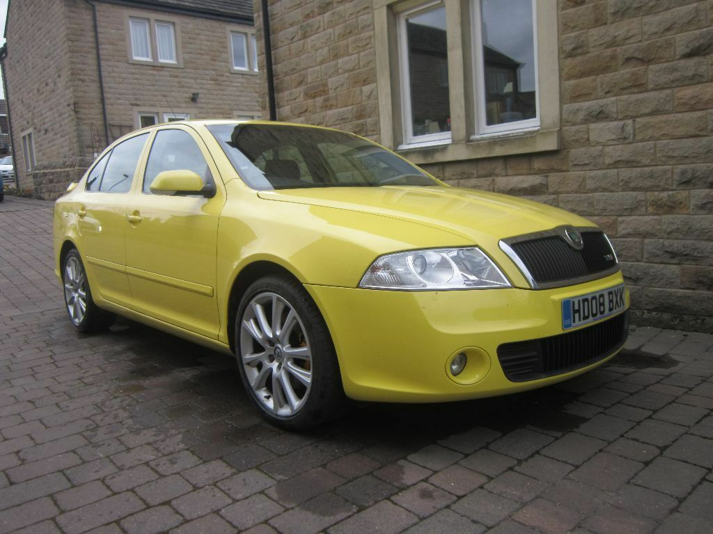 skoda octavia 2 0 tdi pd vrs 2008 yellow manual 5 door in guiseley west yorkshire gumtree. Black Bedroom Furniture Sets. Home Design Ideas
