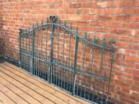Very Well Built Sheperds Crook Galvanised Bi-folding Gates Can Deliver