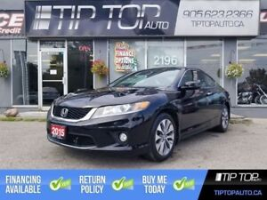 2015 Honda Accord Coupe EX-L w/Navi ** Accident Free, Nav, Leath