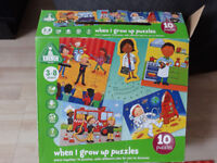 kids 10 puzzles (when i grow up ) ELC