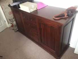 Solid wood designer sideboard 150 ono REDUCED