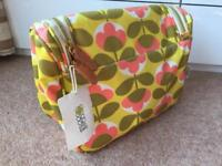 Beautiful Orla Kiely weekend toiletry bag
