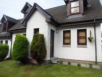 3 bed semi Oban Benderloch house Exchange for Stirling .Edinburgh. midlothian Areas need 3 bed