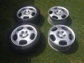 Mercedes 17 inch alloy wheels