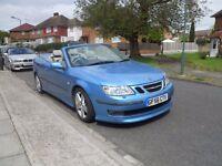 ***Excellent 2006 Saab 9-3 Aero V6 2.8 Litre Automatic Convertible***