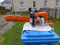 stihl ms 290 petrol chain saw