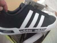 Adidas Neo Daily Mono Junior Trainers brand new boxed.