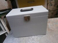 Metal storage box