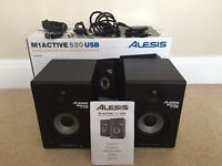 Alesis m1 active 520 USB Active Powered Speakers