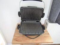 Large George Foreman Grill plus accessories £10