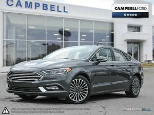 2017 Ford Fusion SE AWD-LOADED-LEATHER-GREAT BUY
