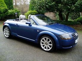 Reduced for quick sale. Lovely well loved Audi TT 1.8 late 2004 Roadster for sale or swap