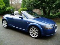 Lovely well loved Audi TT 1.8 late 2004 Roadster for sale or swap