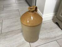 Stoneware wine and spirit jug