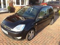 Ford Fiesta (2004) 1.4 Petrol (Black) - Full MOT!!