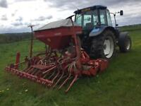 Kuhn / accord power harrow / air drill
