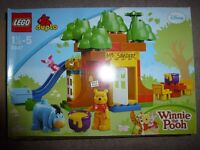 Lego Duplo Winnie the Pooh retired set 5947, rare, complete, excellent condition with box