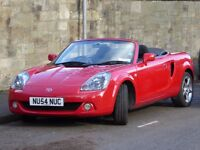Simply stunning Toyota MR2 1.8 VVT-i Roadster (Mk3)