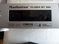 MANHATTAN PLAZA ST 350 Digital SATELLITE RECEIVER CHR PVR Ready