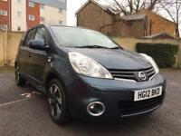 NISSAN NOTE 1.6 N-TEC+ ** SAT NAV ** HALF LEATHER ** 2 KEYS