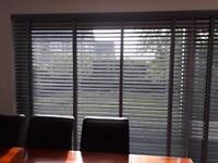 Brand New (still boxed) wooden patio door blinds