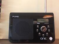 Pure One DAB radio