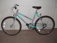 "Ladies/Womens Raleigh Camaro 20"" Mountain Bike (will deliver)"