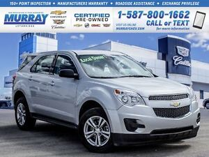 2015 Chevrolet Equinox **Low kms!  One Owner!**