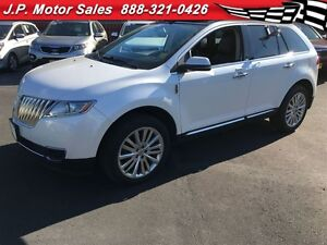 2013 Lincoln MKX Base, Automatic, Panoramic Sunroof, Back Up Cam