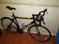 Light & fast racing/road bike, with mudguards (great condition)