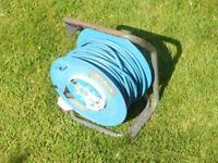Masterplug 40 metre arctic cable reel with two sockets. In good condition and perfect order. £15