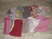 Bundle of Baby Clothes for Girl 6-9 Months