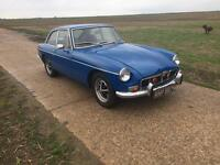MGB GT MG CHROME BUMPER GOOD CONDITION GREAT CAR