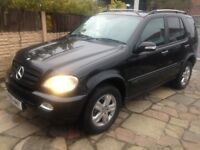 2005 MERCEDES ML 270 CDI AUTO 4X4 MOT NOV CLEAN CAR ONLY £1995