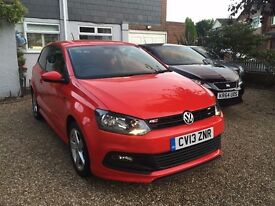 2013 R-LINE SPORT VW POLO CAT C REPAIRED STUNNING RED NICE LOOKING CAR 34K MILES EXCELLENT CONDITION