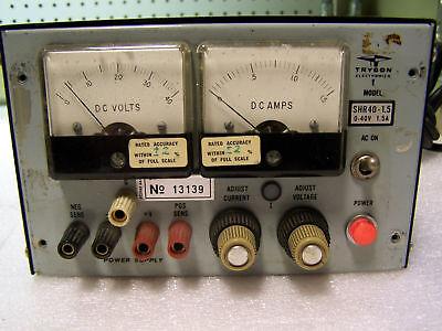 Trygon Electrics Power Supply Model Shr40-1.5 0-4v 1.5a