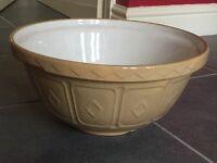 Traditional stoneware bowl