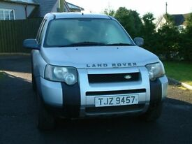 Sept 2004 Landrover Freelander Good Condition. Beautifully kept interior. Only £2550 ono