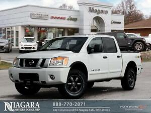 2014 Nissan Titan PRO-4X | CREW CAB | SUNROOF | LEATHER | NAVIGA