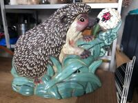 Cute hedgehog door stop