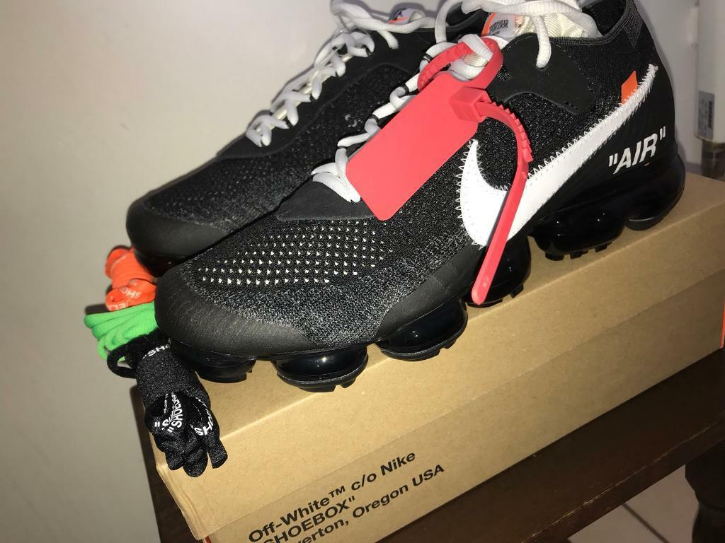 Off White X Nike Vapormax Extremely Rare 100 Authentic