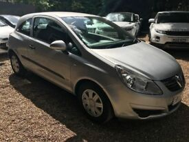Vauxhall Corsa 1.3 CDTi 16v Life 3dr£1,495 p/x welcome LONG MOT, GREAT MPG!!