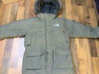 North Face parka mcmurdo medium new Rrp £300