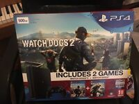 PS4 Watch Dogs 1 & 2 bundle **BRAND NEW** in unopened packaging.