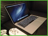"""MacBook Pro 13"""" with Retina Display 256GB Model with Apple Care Warranty"""