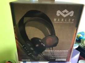Marley headphones hardly used