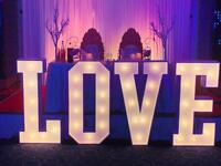 Giant Letters for hire- £99 (Giant love letters or MR & MRS)