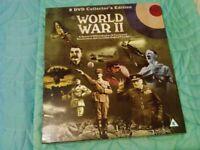 Box set of 8 DVD's on World War 2. Unused gift.
